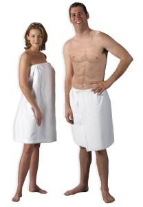 Velour Bath Wraps