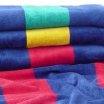 Rugby Stripe Beach Towels